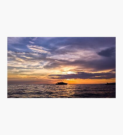 Italian Sunset Photographic Print