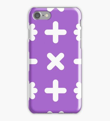 Cross pattern iPhone Case/Skin