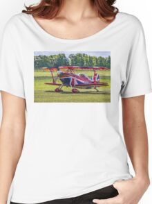 "Pitts S-2S Special G-EWIZ ""The Muscle Biplane"" Women's Relaxed Fit T-Shirt"