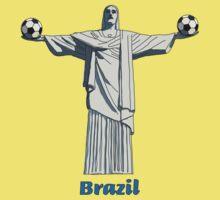 Brazil football  Baby Tee