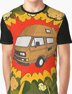 T25 Boom Cartoon Graphic T-Shirt