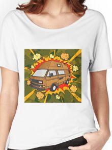 T25 Boom Cartoon Women's Relaxed Fit T-Shirt