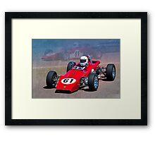 1969 Lotus 61 Formula Ford Framed Print