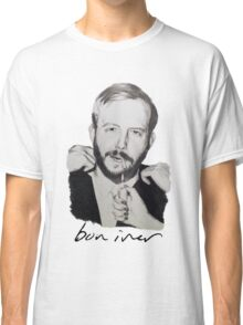 Justin Vernon/Bon Iver Drawing Classic T-Shirt