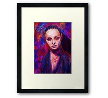 Sad Eyes Framed Print