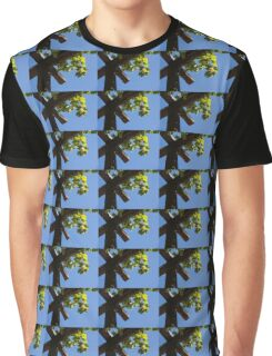 Blue Sky Grape Harvest - Thinking of Fine Wine Graphic T-Shirt