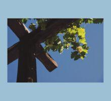 Blue Sky Grape Harvest - Thinking of Fine Wine One Piece - Short Sleeve