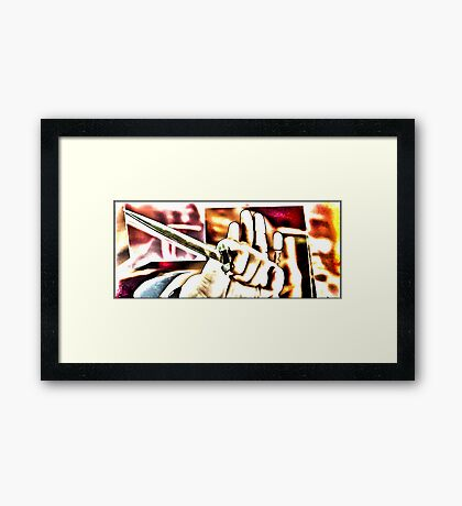 """""""Is this what you seek?"""" [Dune] Framed Print"""