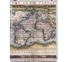 1564 World Map by Ortelius iPad Case/Skin