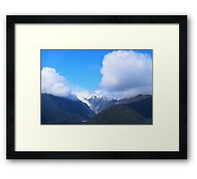 Franz Joseph Glacier, New Zealand Framed Print