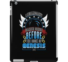 LEGENDARY GAMER (SONIC V2) iPad Case/Skin