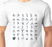 Olympics Icon Pictograms  Unisex T-Shirt