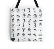 Olympics Icon Pictograms  Tote Bag