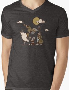 Wandering Troubadours Mens V-Neck T-Shirt