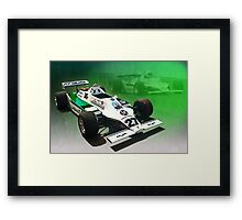 Williams FW07/04 Framed Print