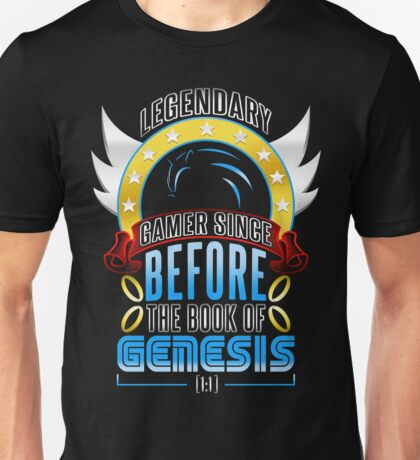LEGENDARY GAMER (SONIC V3) Unisex T-Shirt