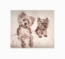 Two Yorkis - Yorkshire Terrier Unisex T-Shirt