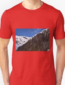 New Zealand Snow Covered Mountains Unisex T-Shirt