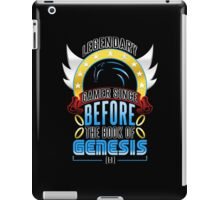 LEGENDARY GAMER (SONIC V3) iPad Case/Skin