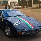 Ferrari 365 GTC4 Front by Stuart Row