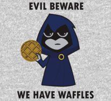 Evil Beware: We Have Waffles Kids Clothes