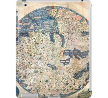 1458 World Map by Fra Mauro iPad Case/Skin