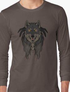 Tribal Werewolf Long Sleeve T-Shirt
