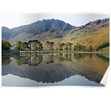 Haystacks and the Buttermere Pines Poster