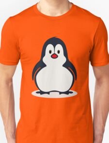 Cute Penguin Illustration Unisex T-Shirt
