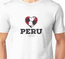 Peru Soccer Shirt 2016 Unisex T-Shirt