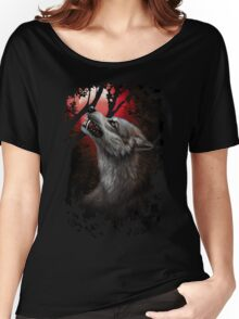 BloodMoon Women's Relaxed Fit T-Shirt