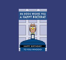 DOCTOR WHO OWL CARD (NO NAME) Unisex T-Shirt