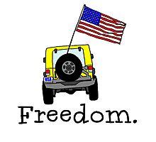 Jeep, Freedom Photographic Print