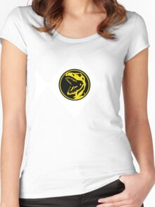 Mighty Morphin Power Rangers Red Ranger 2 Women's Fitted Scoop T-Shirt