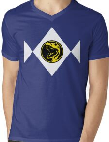 Mighty Morphin Power Rangers Red Ranger 2 Mens V-Neck T-Shirt