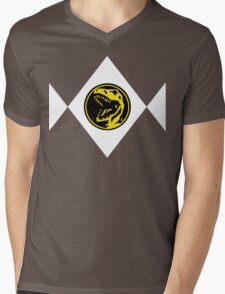 Mighty Morphin Power Rangers Red Ranger 2 Mens V-Neck T-Shirt