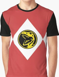 Mighty Morphin Power Rangers Red Ranger 2 Graphic T-Shirt