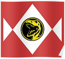 Mighty Morphin Power Rangers Red Ranger 2 Poster