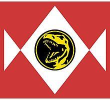 Mighty Morphin Power Rangers Red Ranger 2 Photographic Print