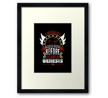 LEGENDARY GAMER (SHADOW V1) Framed Print