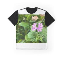 Four wild flowers Graphic T-Shirt