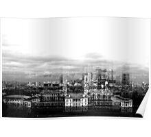 Skyline of Canary Wharf Poster
