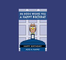 DOCTOR WHO OWL CARD (ADD A NAME) Unisex T-Shirt