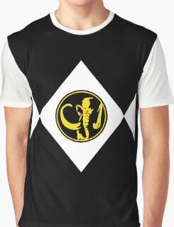 Mighty Morphin Power Rangers Black Ranger 2 Graphic T-Shirt