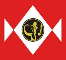 Mighty Morphin Power Rangers Black Ranger 2 Baby Tee