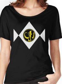 Mighty Morphin Power Rangers Black Ranger 2 Women's Relaxed Fit T-Shirt