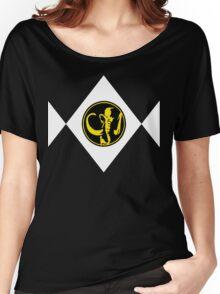 Mighty Morphin Power Rangers Black Ranger 2 Women's Relaxed Fit T-Shirt