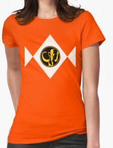 Mighty Morphin Power Rangers Black Ranger 2 Womens Fitted T-Shirt