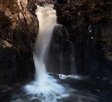 falls of kirkaig by codaimages