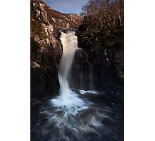 falls of kirkaig Photographic Print